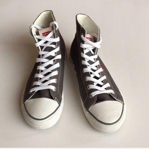 LEVI'S Canvas Hi Top Sneakers
